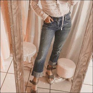 Citizens of Humanity Dani Crop Straight Leg Jeans
